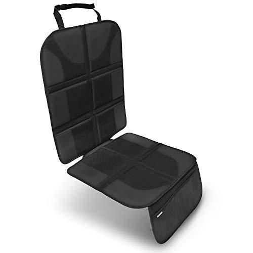 VIATURA Kindersitzunterlage | ISOFIX geeignet | Premium Autositzauflage zum Schutz ihrer Autositze | Sitzschoner mit der besten Polsterung