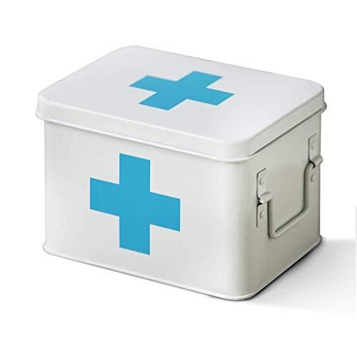 GOXJNG Sscatola per Medicinali Household Medicina Storage Box Kit di Primo Soccorso Caso Ideale for L'Ufficio Campeggio Auto Il Viaggio...