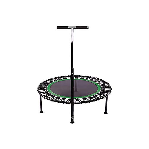 YWAWJ Trampolines Safety Outdoor Trampolines Spring Padding with Round Jumping Mat Foot Safety Pad Trampolines for Adults, Kids Play & Exercise (Color : Green)