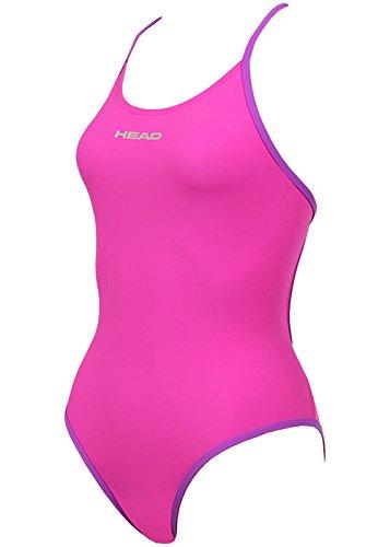 Head SWS Tropic Lycra Extra - Bañador para Mujer, Color Rosa, Talla 44