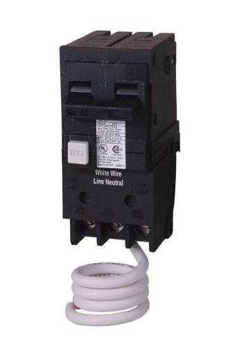 Siemens qe230h 30-amp doble pole 120/240-volt grupo culpa equipo interruptor de circuito de protección