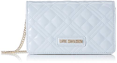 Love Moschino Damen Jc4093pp1a Henkeltasche, Blau (Nuvola), 4x11x18 centimeters