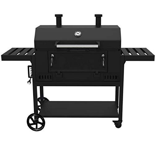 Smoke Hollow CG600G - Supporto per griglia a carbonella da 91,4 cm, Nero per attività all'aperto in Famiglia, Un Set di Strumenti Top per Fare Il Barbecue alla Perfezione
