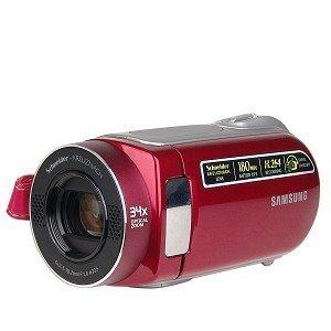 Samsung SC-MX20ER 16GB 34x Optical/1200x Digital Zoom SDHC/MMCplus Camcorder w/2.7' LCD (Red) - New...
