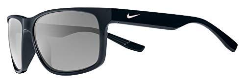 Nike Cruiser Square Sunglasses, Black, 59 mm