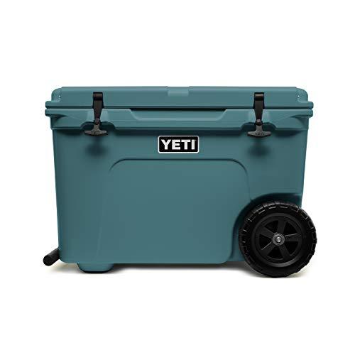 YETI Tundra Haul Portable Wheeled Cooler, River Green