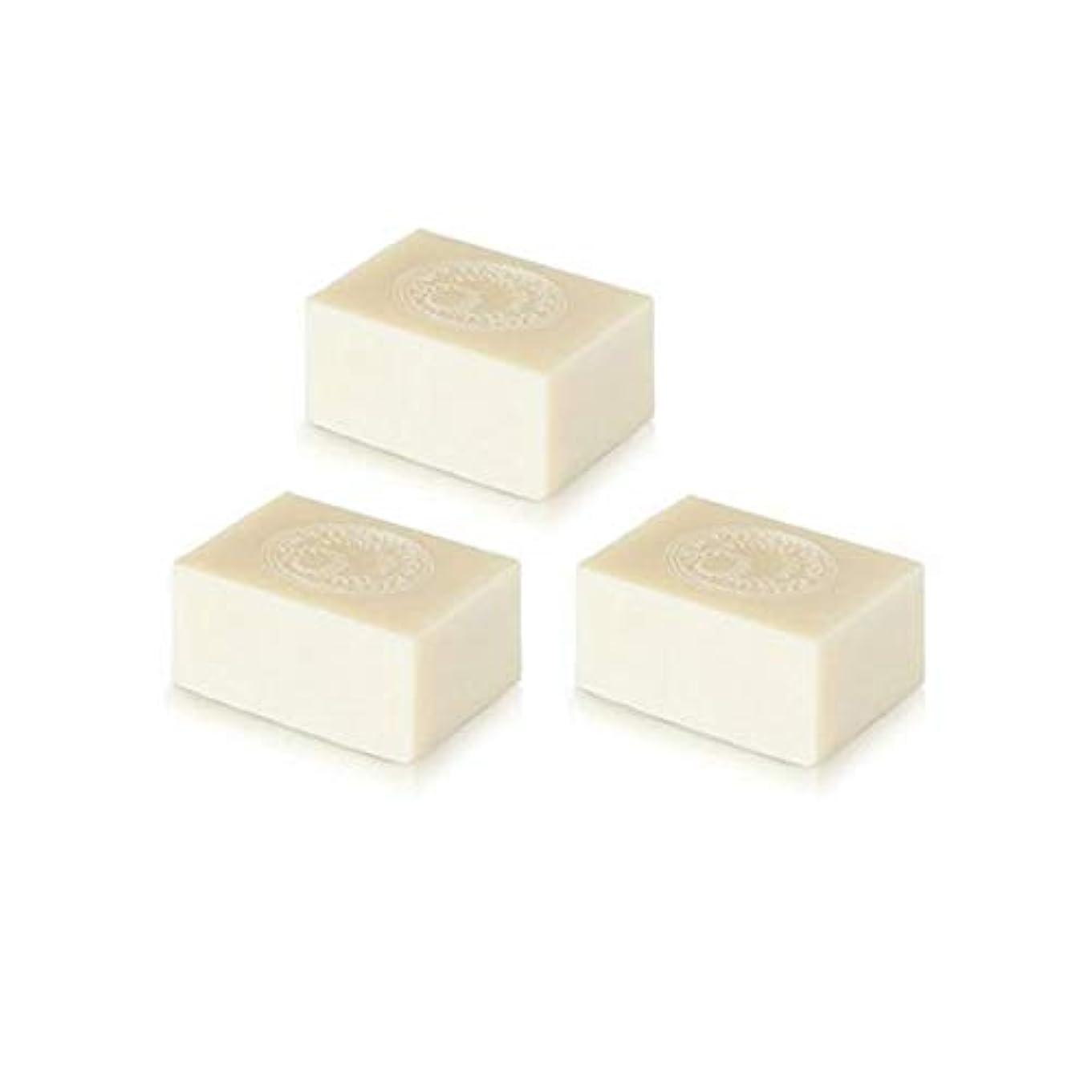 汚す必要条件剃るアルガン石鹸3個セット( 145g ×3個) アルガンオイルの完全無添加石鹸