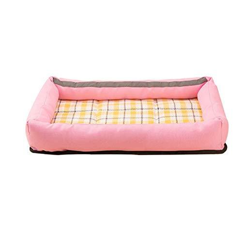 GDDYQ Huisdier nest, zomer hittebestendige beet pad slijtvaste Oxford doek gemakkelijk te reinigen, geschikt voor kleine honden
