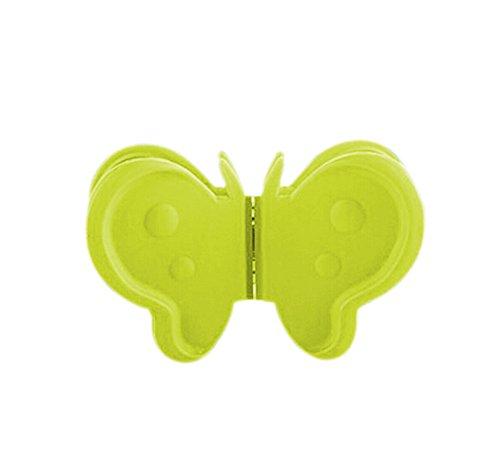 Da.Wa 3xPCS Antidérapante Silicone Pot En Forme de Papillon, Four Mini Mitt, Poignées de cuisson de Pinch, Gants calorifuges, Coffre-fort barbecue Protection des mains, Mini Mitaines deux usages