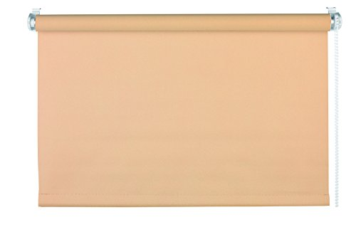 mydeco® 90x210 cm [BxH] in beige - rolgordijn zonder boren - klemrolgordijn - rolgordijnen incl. klemdragers - zonnescherm, inkijkbescherming voor ramen en deuren