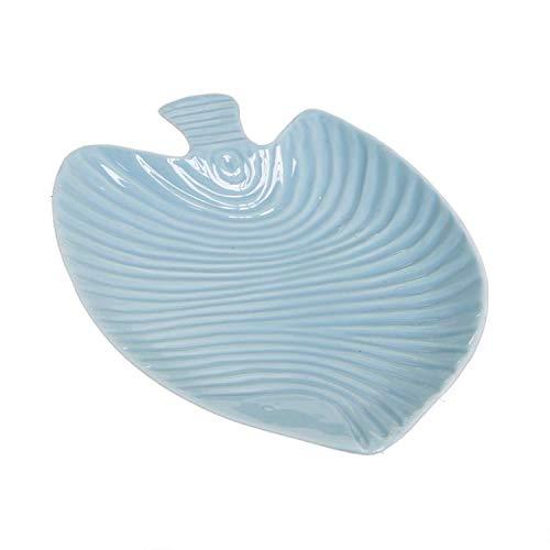 Vaciabolsillos Forma Pez Azul Ceramica 18 cm