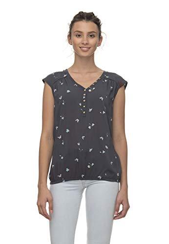 Ragwear T-Shirt Damen Salty A 2011-10013 Grau Grey 3000, Größe:M