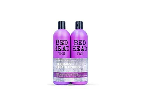 Bed Head by TIGI Set Dumb Blonde Champú 750ml + Acondicionador 750ml