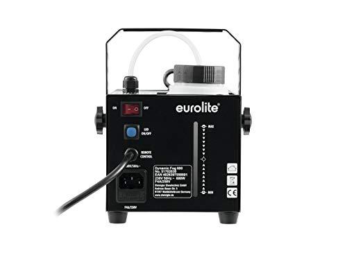 Eurolite Dynamic Fog 600 Watt Nebelmaschine Erfahrungen & Preisvergleich