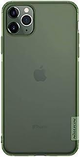 جراب تي بي يو من سلسلة ناتشر لـابل ايفون 11 برو من نيلكن - شفاف اخضر غامق