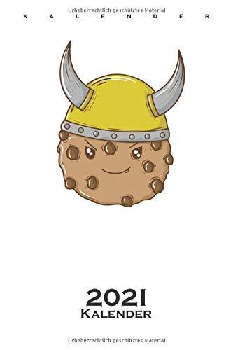 Cookies Wikinger Helm Kalender 2021: Jahreskalender für Naschkatzen und Keksliebhaber