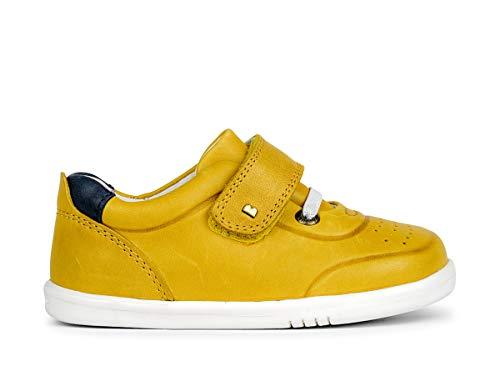 Bobux I-Walk Ryder Turnschuhe, Chartreuse/Marineblau, Gelb - gelb - Größe: 25 EU