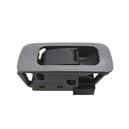 Botón de control de ventana actualizado para Suzuki Grand Vitara gris 37995-75F00-P4Z / 3799575F00P4Z / 3799575F00T01 / 37995-75F00-T01 embellecedor interior (negro)