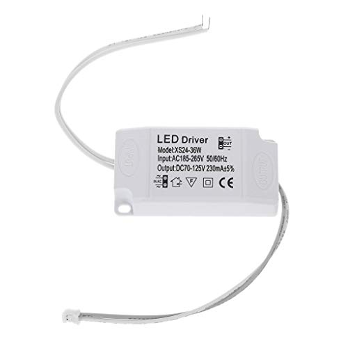 AERVEAL, 220V Led Controlador de Corriente Constante 24-36W Salida de Fuente de alimentación Externa para Led