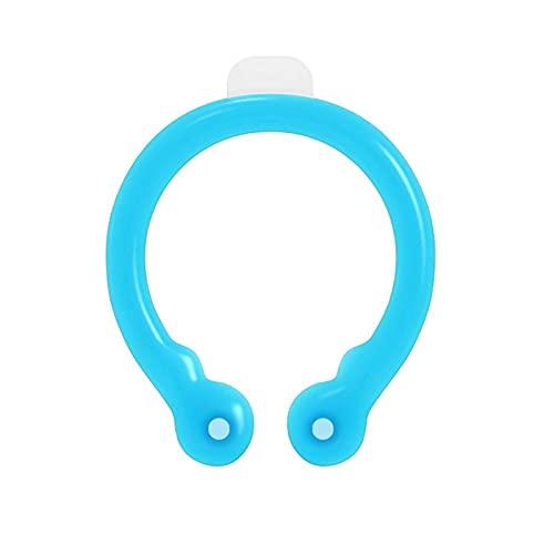 PETUFUN - Tubo de refrigeración para cuello, tubo de enfriamiento del cuello de verano, portátil, reutilizable, anillo de refrigeración para el hielo, anillo de verano para deportes al aire libre