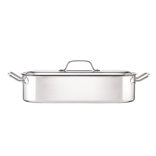 Kitchen Craft Induction-Safe Stainless Steel Fish Kettle, 45.5 x 15.5 x 10 cm (18' x 6' x 4')