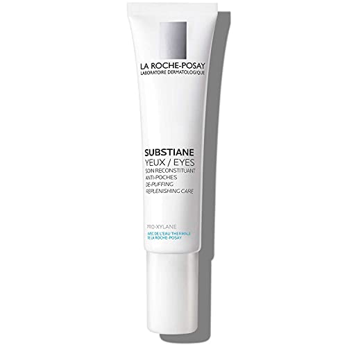 La Roche-Posay Substiane Replenishing Eye Cream, Anti Aging Eye Cream to Hydrate and Firm Skin, Ophthalmologist Tested