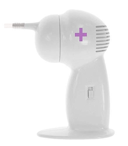 GHzzY Saug-Ohrenreiniger - Elektrischer Ohrenschmalz-Entferner für Kinder, Erwachsene, ältere Menschen und Haustiere - Vakuum-Ohrenschmalz-Entferner