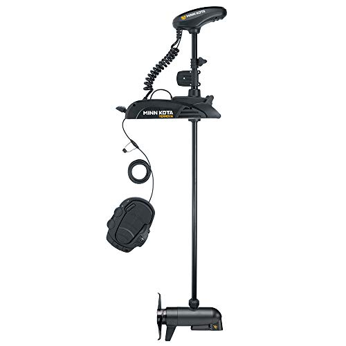 Minn Kota Terrova Freshwater Bow-Mount Trolling Motor with 60-Inch Shaft, MEGA Down Imaging, and i-P