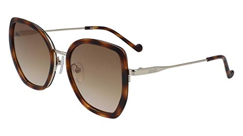 Liu Jo gafas de sol LJ724S 41754 215 habana brown tamaño de 53 mm de las mujeres