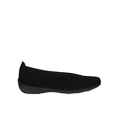 Wolky Comfort Ballerinas Ballet - 40000 schwarz Veloursleder - 36