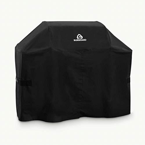 Grill Abdeck-Haube L 145 x 120 x 75 cm, Universal Grillabdeckung wasserdichtes BBQ Cover Schutzhülle, Abdeckplane für Grills aus hochwertigem und robustem Material, UV-resistent, perfekter Schutz