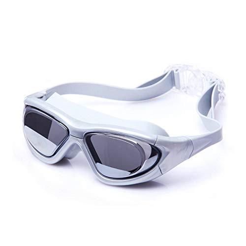 Anti niebla ninguna fuga natación gafas de buceo miopía gafas impermeable