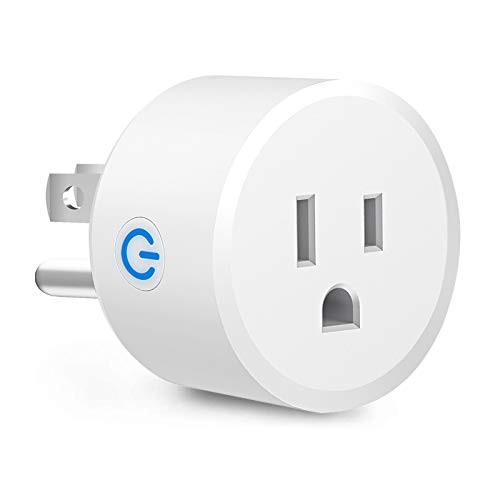EKF Zigbee Smart Plugs, Wireless Remote Control Electrical Outlet Switch Works with SmartThings and Amazon Echo Plus Hub Voice Control Compatible with Alexa and Samsung Assistant (Hub Required)