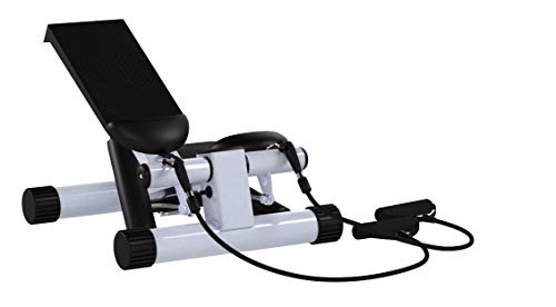 Product Image 8: Sunny Health & Fitness Mini Stepper with Resistance Bands
