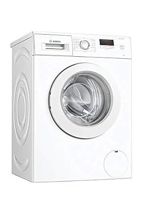Bosch WAJ28008GB Serie 2 Freestanding Washing Machine with SpeedPerfect, 7kg load, 1400rpm spin, White, Decibel rating: 75, EU Acoustic Class: B