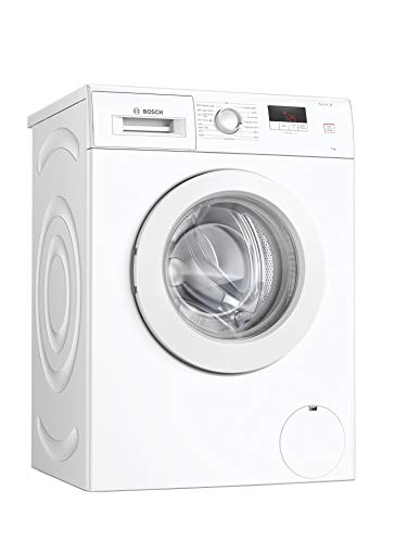 Bosch WAJ28008GB Serie 2 Freestanding Washing Machine with SpeedPerfect, 7kg load, 1400rpm spin, White