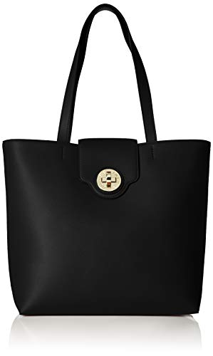 Emporio Armani Shopping stampa minicapra BLACK W/F 2018-19