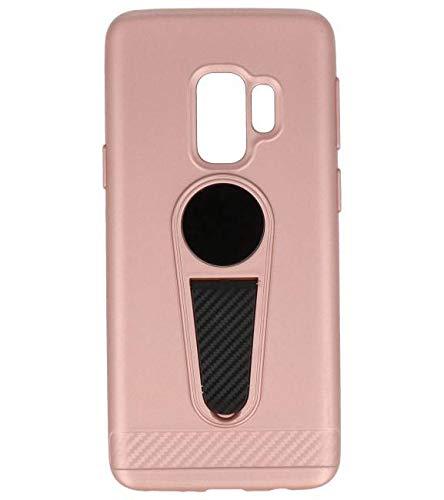 Microfoon series hoesje Samsung Galaxy S9 Roze