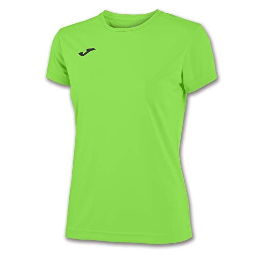 Joma 900248.020 T- T-Shirt Sportswear, Vert (Vert Fluo), L (Taille Fabricant : L)