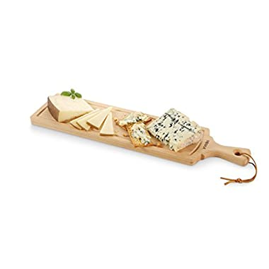 Boska Holland Beech Wood Cheese Board, Rectangle Paddle Board, 17.5  x 4.5 , Explore Collection