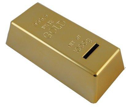 Spardose Goldbarren