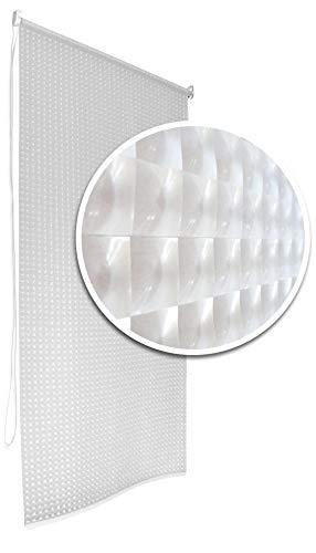 3D Bathroom Shower Curtain Roller Blind Extra Long, 4 Width Sizes (100 x 240CM)