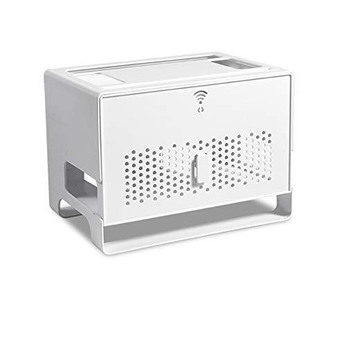 XXLYY Cajón de Doble Capa Tipo WiFi Router Caja de Almacenamiento Cable...