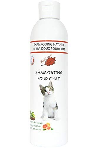 Feuille rouge Shampooing Spécial pour Chat-250ml.