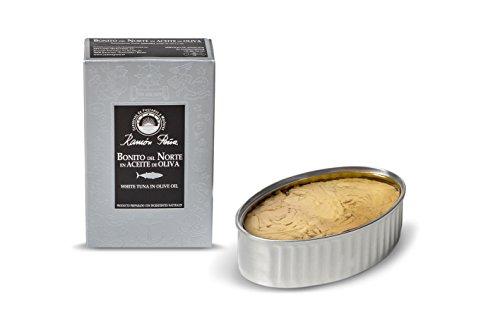 RAMON PEÑA - Weißer Thunfisch in Olivenöl OL120 Pack 3 Stück