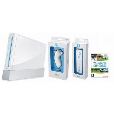 Nintendo - Wii - Console Wii Blanche Wii Sport Occasion