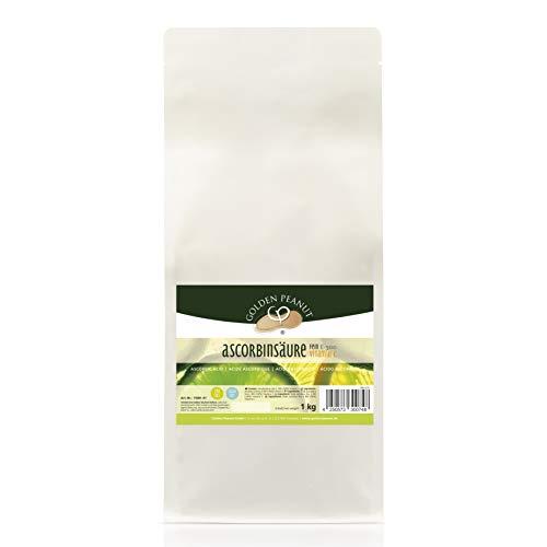 Vitamin C Ascorbinsäure Pulver, 1 kg Beutel - 100% rein, hochdosiert, ascorbic acid