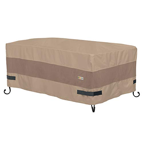Duck Covers Elegant Fire Pit Cover, Multi, 56' x 38' x 24'