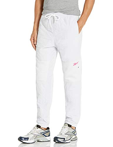 Reebok Workout Ready Meet You There Quilted Jogger Pants, Porcelain, 2XL