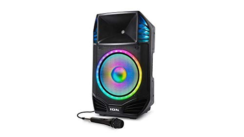 Ion Audio Total PA Premier High Power Bluetooth PA System with Lights (Renewed)